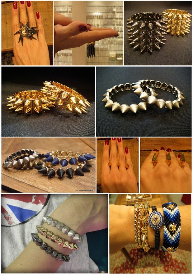 Spikes 11 - Spikes -  Item com personalidade!