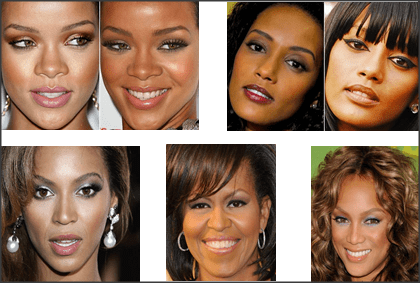 Snap 2012 11 29 at 00.31.41 - Maquiagem para pele negra!