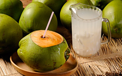agua de coco - Água de coco – essa bebida não pode faltar em seu verão!