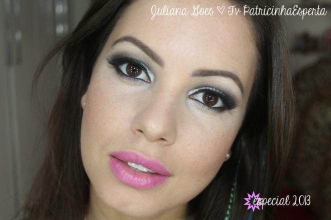 juliana goes revista 1024x682 - Tutorial: Esfumado Preto e Prata para as Festas!