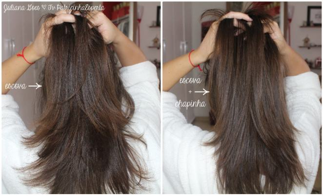 juliana goes cabelo - Cabelo Super Liso com Redken Smooth Down Heat Glide