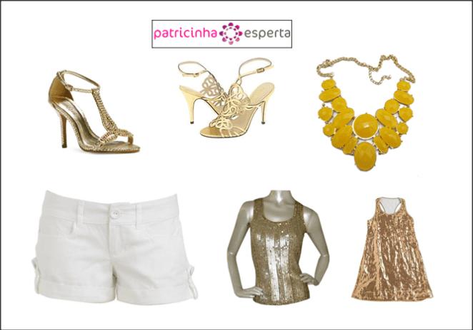 look2 - Shorts Branco: Escolha sem erro!