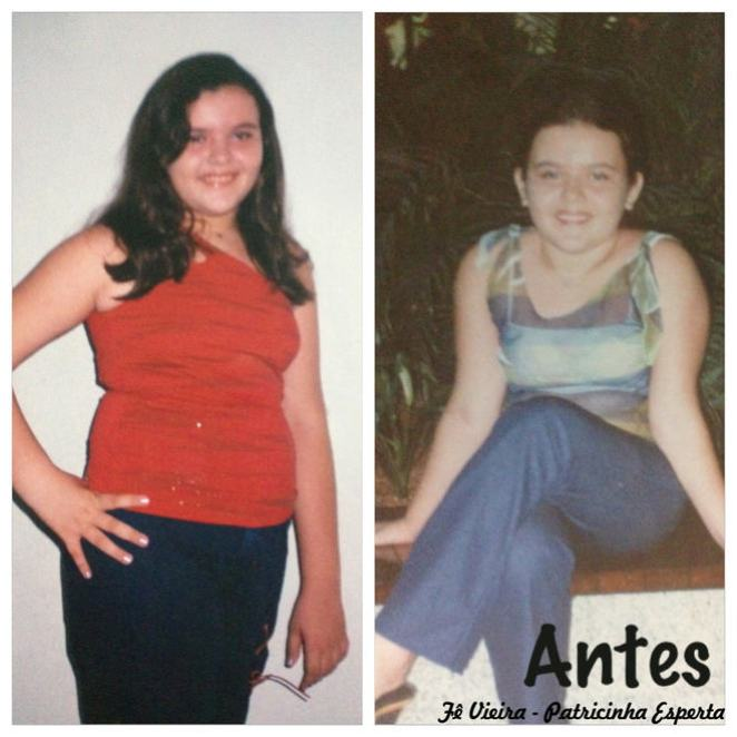 antes - Fer Vieira - Ela emagreceu 12 kg e conta como conseguiu!