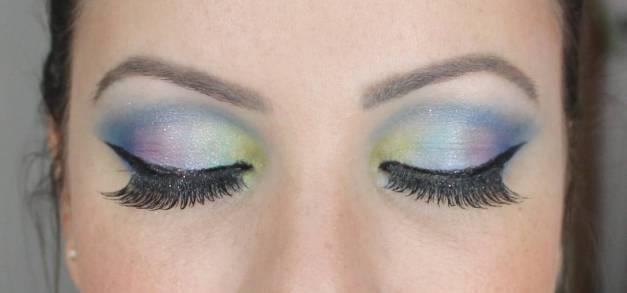 color eyer - Tutorial: Maquiagem Colorida para arrasar no Carnaval