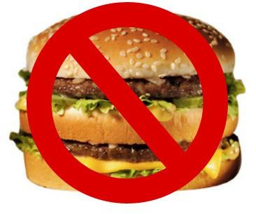 no fast food - Abstinência de Comida, Já Ouviu Falar?