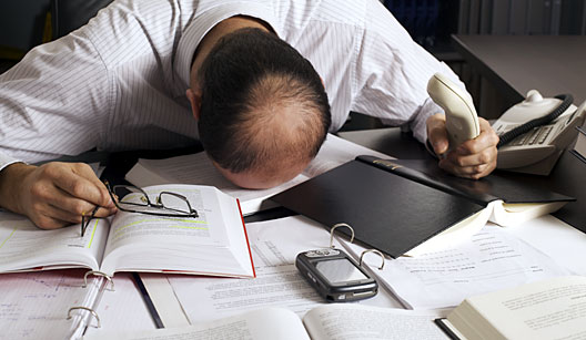 estresse trabalho - Teu Trabalho te Estressa?