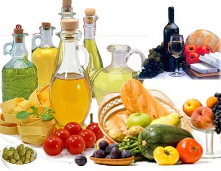 dieta mediterranea - Cardápio da Dieta Mediterrânea