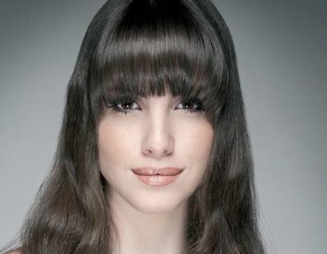 franja meia lua - Franjas: a nova hair trend de inverno