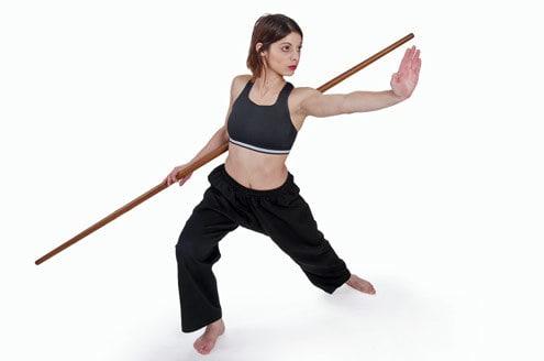 mulher luta kung fu - Lute para conquistar o corpo dos sonhos