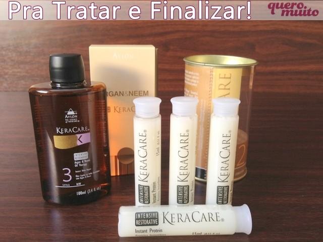 kit - Kit de Hidratação, Revitalização e Finalização - Avlon
