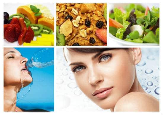 Alimentacao Saudavel - Que tal cuidar do rosto com alimentos?