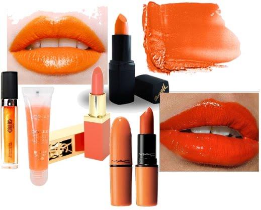 laranja - Verão 2014: sabe o que usar nos lábios?