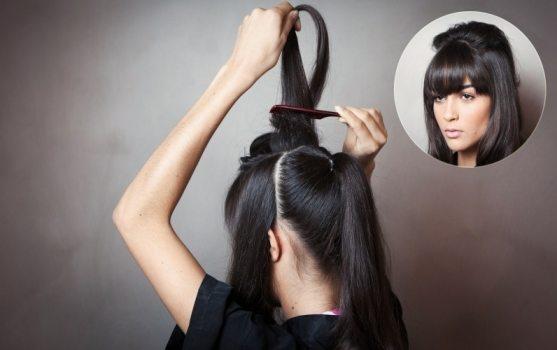 penteados com franja 1365798479243 796x500 - Aprenda com o mestre: desfie o cabelo sem danificar