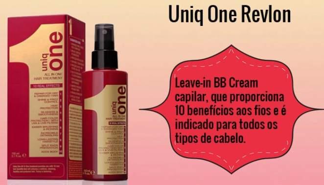 uniq one1 - 6 Produtos CORINGA para os Cabelos!