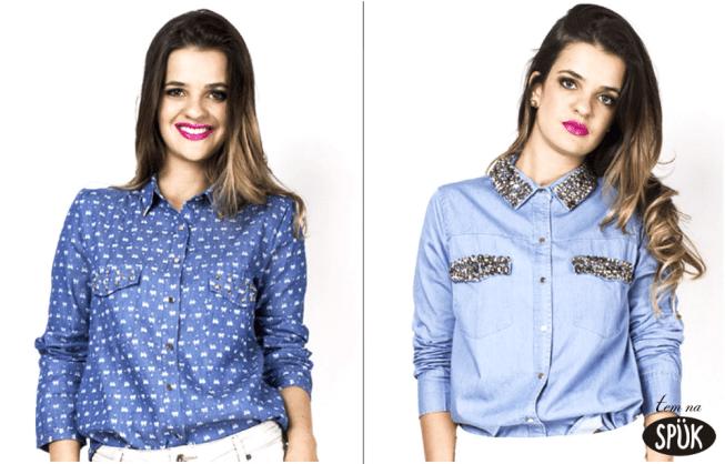 BlogSpuk - Camisa Jeans: como usar