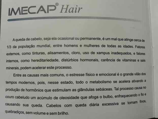 20131230 134956 - Imecap Hair – resultados e benefícios