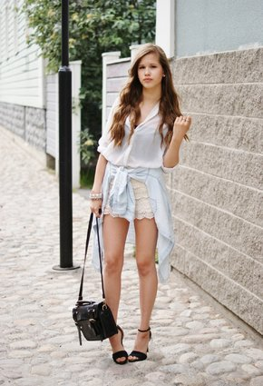 gina tricot white zara shirt blouseslook index middle - Camisa branca: como usar?