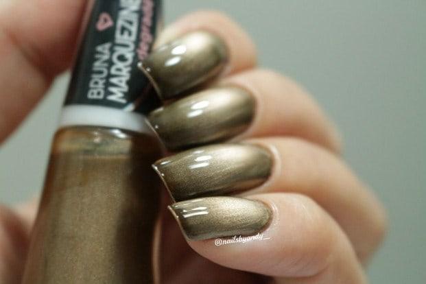 gold black 3 assinado 1024x683 - Esmalte degradê Bruna Marquezine - cores incríveis