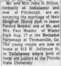 Wedding Announcements Newspaper.Newspaper Announcements Patrick And Stephanie