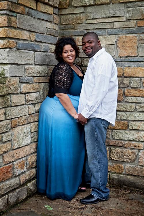 Engagement Photos - Minnehaha Falls - Minneapolis MN