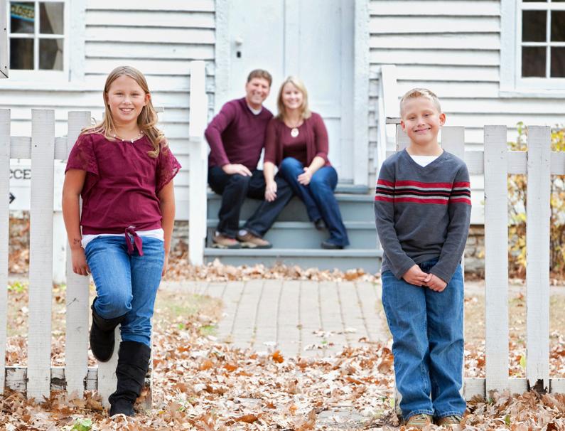 Family Photography - Minnehaha Falls Park Minneapolis MN