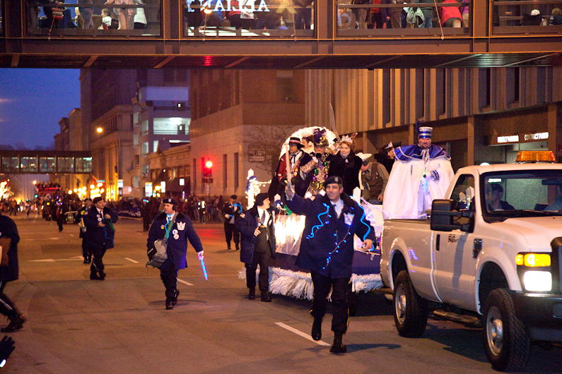 Saint Paul Winter Carnival Torchlight Parade 2012