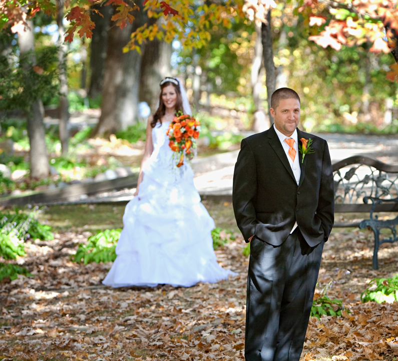 Wedding Photography Panola Valley Gardens Lindstrom MN, Tanners Brook Golf Course