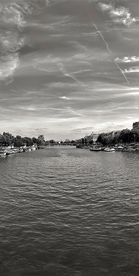 La Seine vue du pont de la Concorde