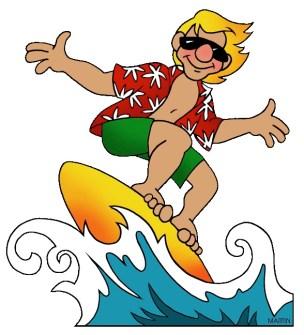 California Surfer Dude