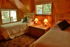Twin Beds in Boathouse