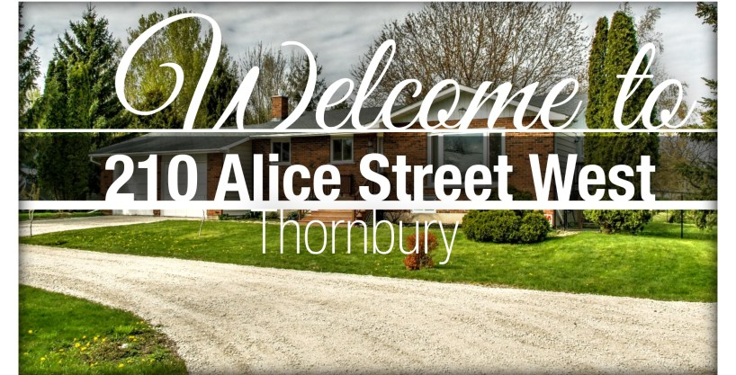 210 Alice Street West, Thornbury   HomeInThornbury.com