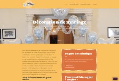 Balloon Air Design - Site Wordpress