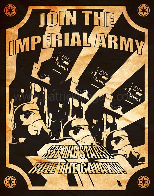 Star Wars Propaganda Patrick King Art