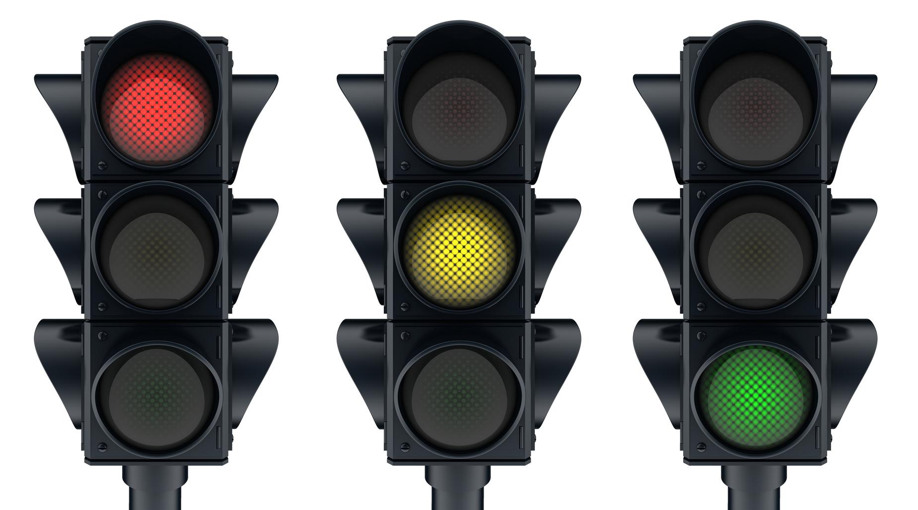 Traffic Lights System for managing interruptions at work