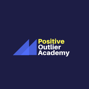 The Positive Outlier Academy Logo