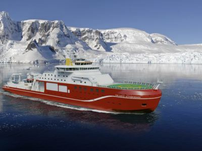 RRS Sir David Attenborough - British Antarctic Survey