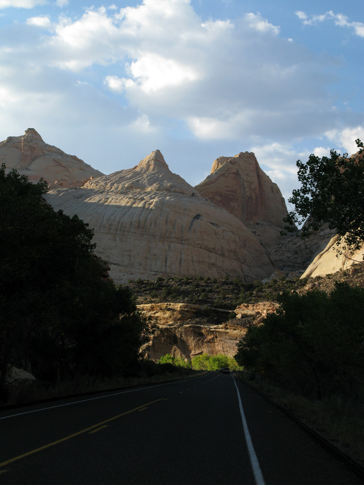 Capital Dome at Capital Reef NP.