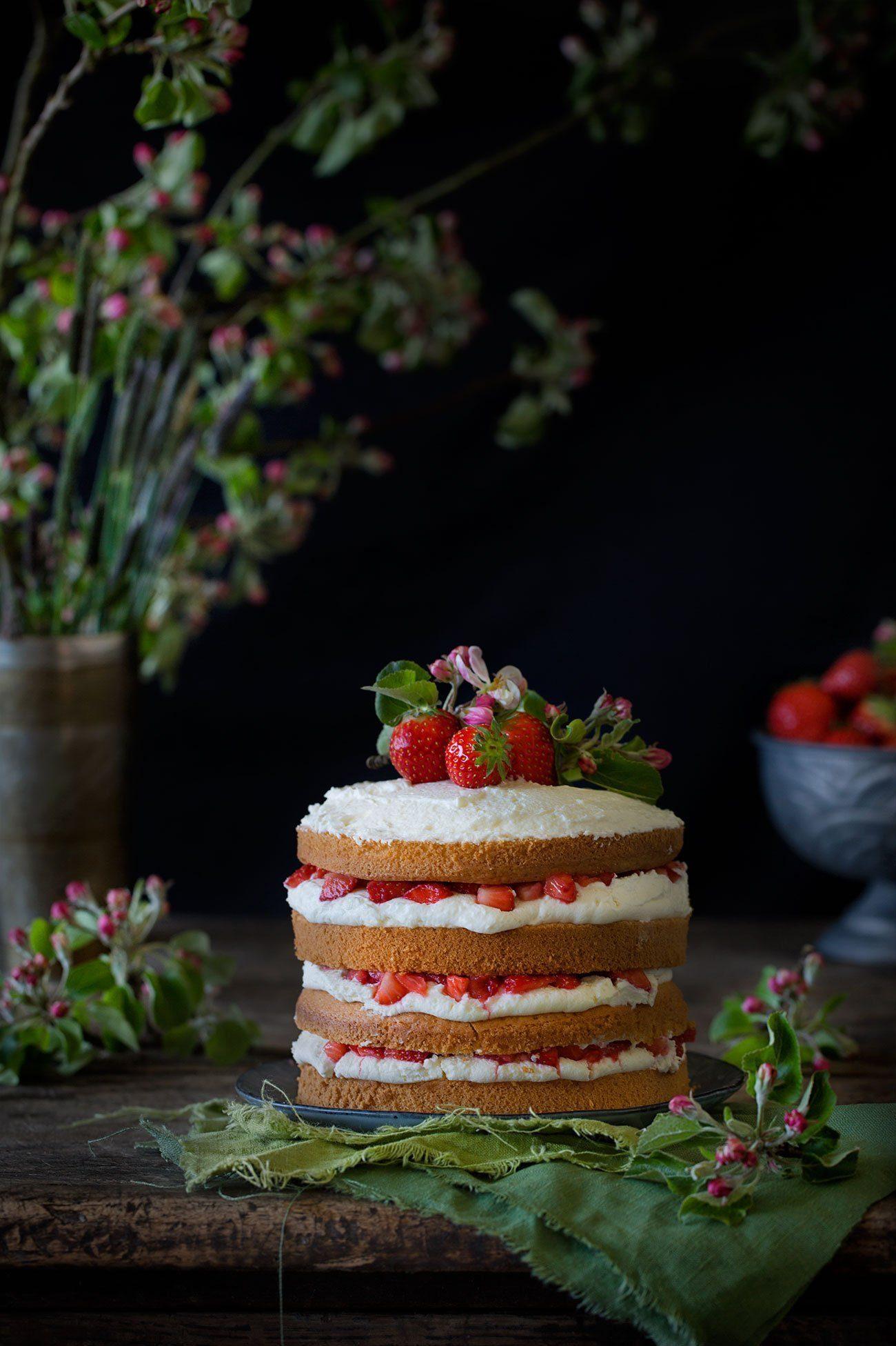 Erdbeer Mascarpone Kuchen Patrick Rosenthal