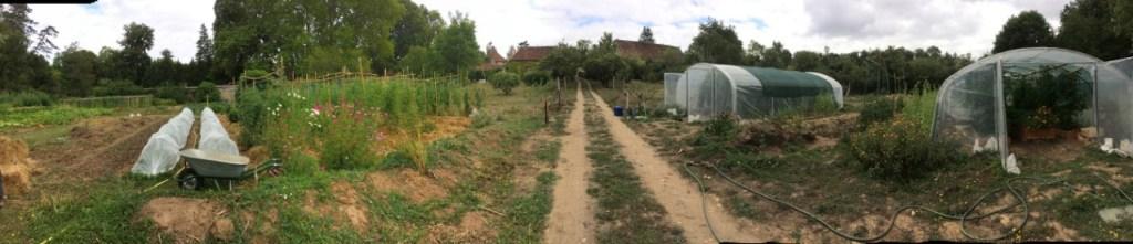 Le potager du Moulin de château Guillaume