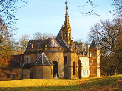 Chapelle castrale Ste Madeleine du Châteu de Preisch