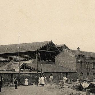 l'ancienne usine de Perrusson