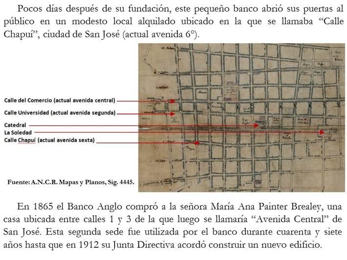 Resultado de imagen para Edificio del Banco Anglo San jose historia