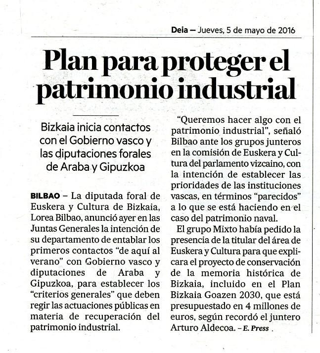 Diario Deia 05/05/2016