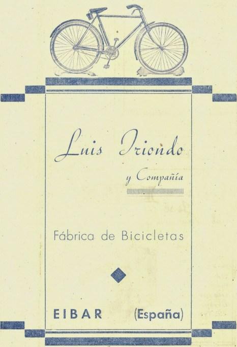 Luis Iriondo y Compañía, Fábrica de bicicletas, Éibar. (egoibarra.eus)