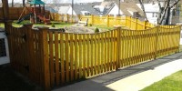 Patriot Fence Wood