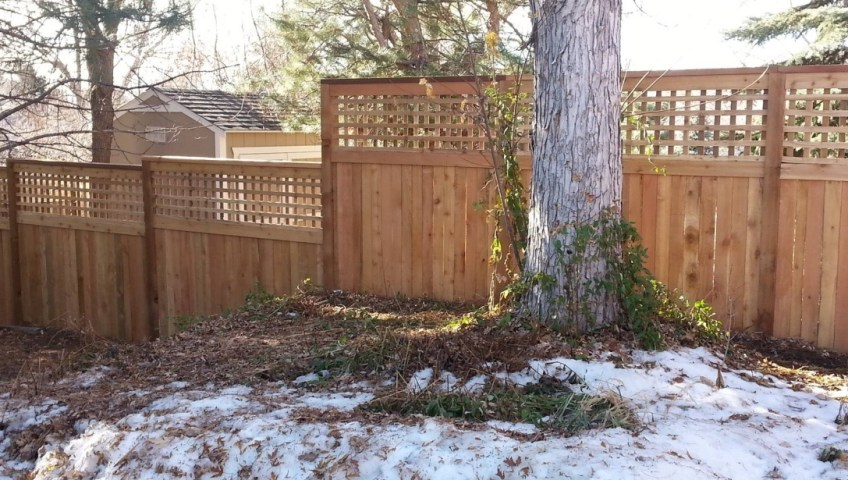 Can you install a fence in the winter
