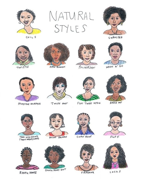 natural styles poster