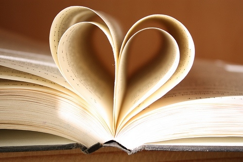 Photo: Book of Hearts by Rudra Melaram. Obtained via flickr using a Creative Commons 2.0 license.