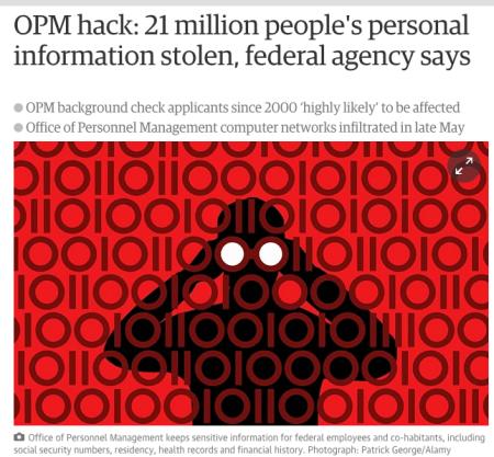 North Korea stole 21 million people's personal information.