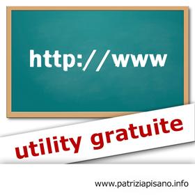 Utility Gratuite - Patrizia Pisano